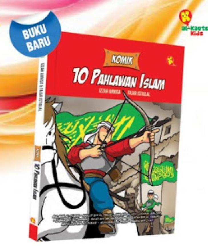 Komik anak 10 Pahlawan Islam