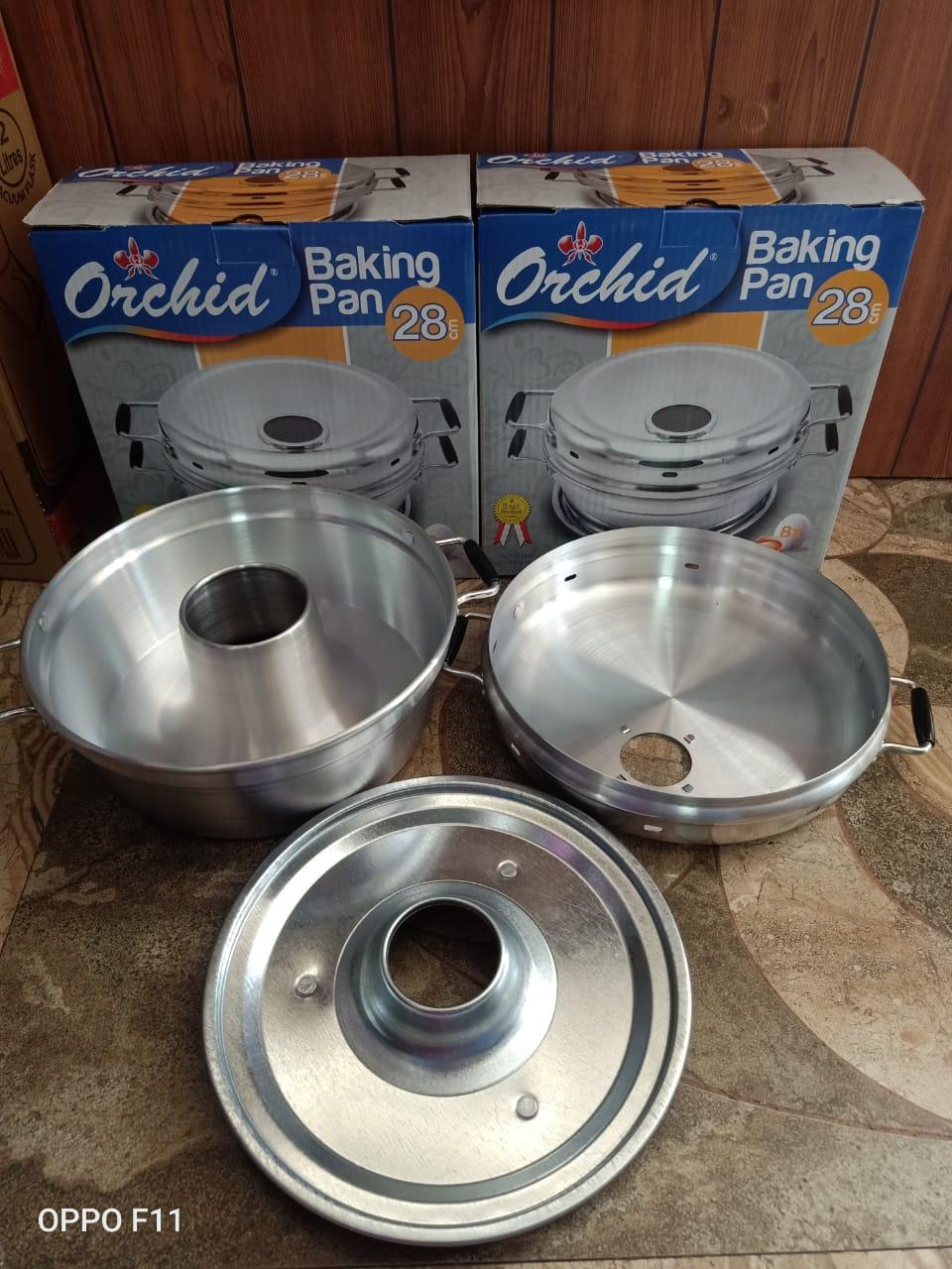 Panci Orchid Baking Pan