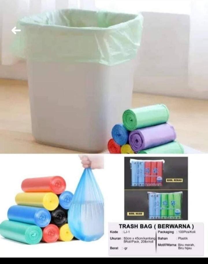 Kantong Plastik Sampah Mudah