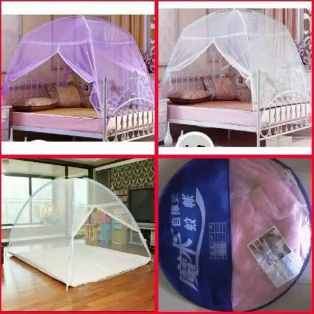 Kelambu tenda ukuran 180 cm X 200 cm