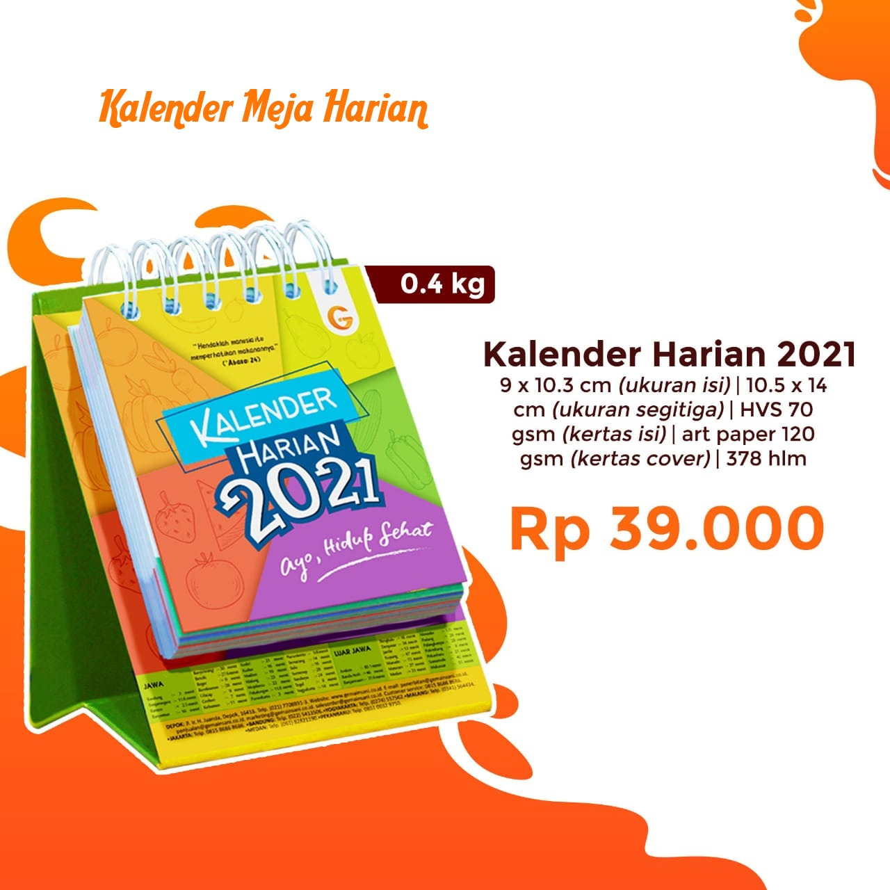 Kalender Harian 2021
