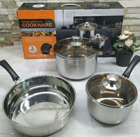 Cookware  Calypso Set Isi 3